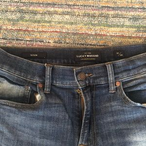 Lucky Brand Jeans - 121 Heritage Slim Jean with Coolmax
